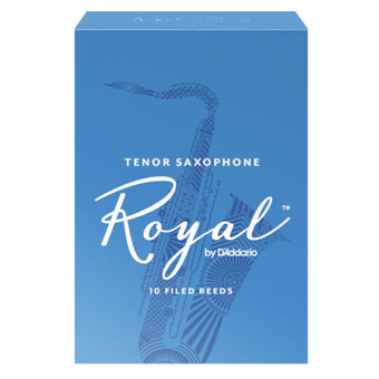 Royal Tenor Sax Reed Strength 1.5 Box of 10